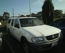 Our New Ute - Thanks Ballarat Holden