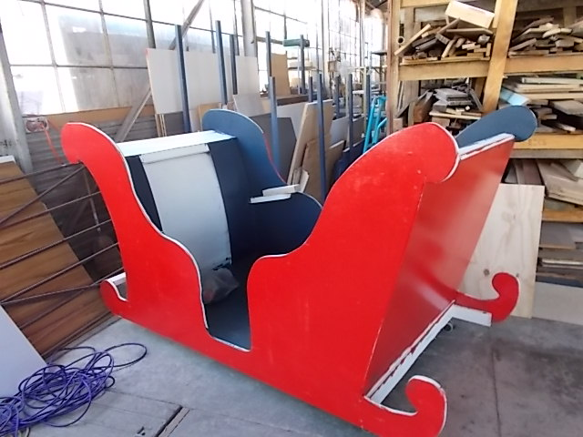 Projects - Santas Sleigh